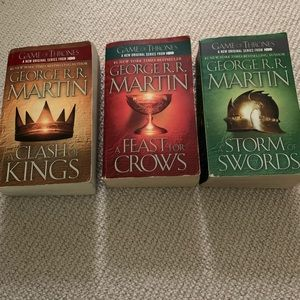 Game of Thrones paperback books